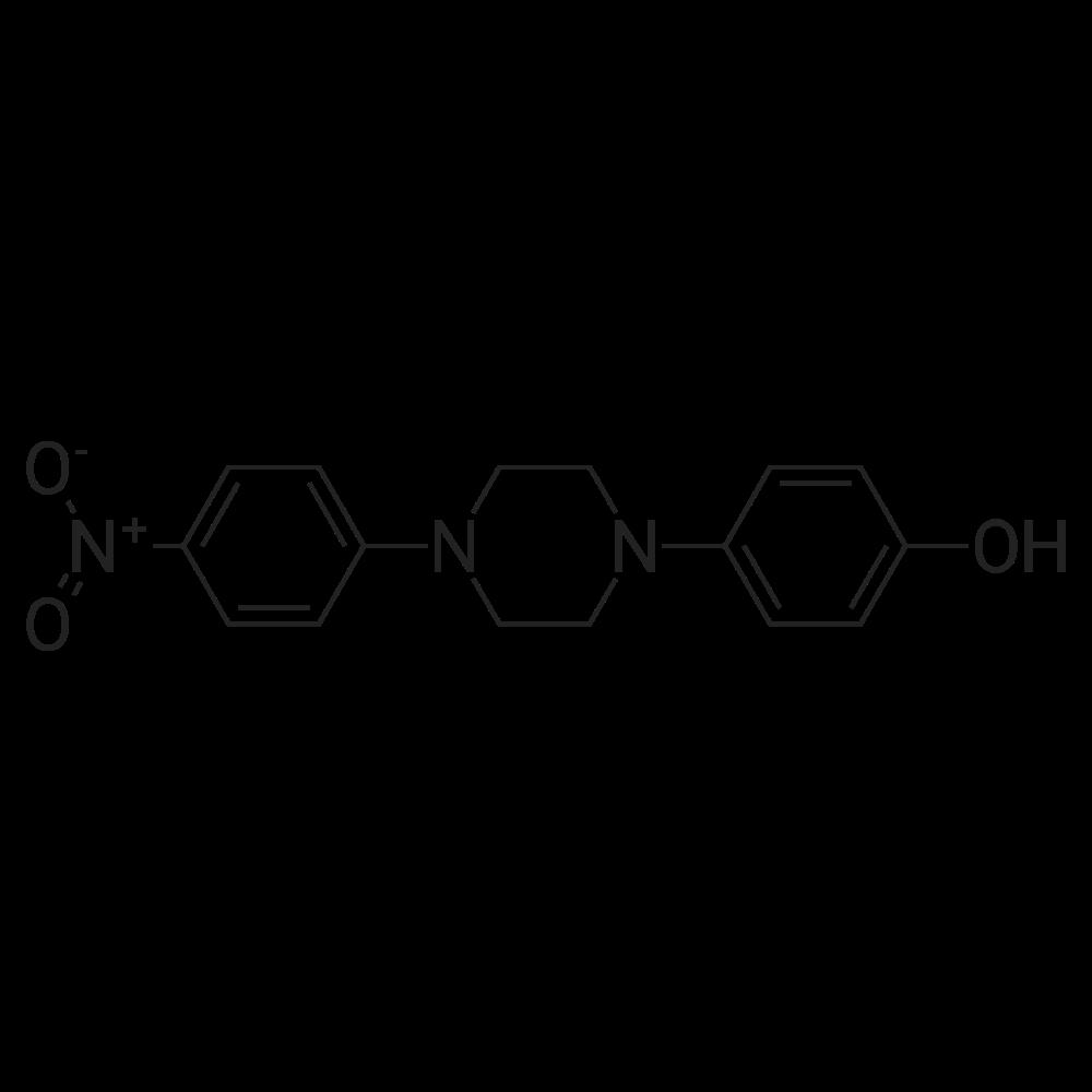 4-(4-(4-Nitrophenyl)-1-piperazinyl)phenol
