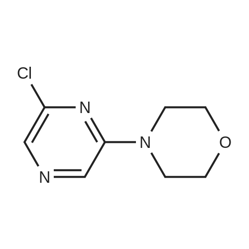4-(6-Chloropyrazin-2-yl)morpholine