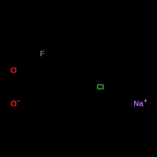 Sodium 4-chloro-2-fluorobenzoate