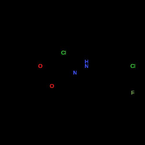 Ethyl 2-chloro-2-(2-(3-chloro-4-fluorophenyl)hydrazono)acetate