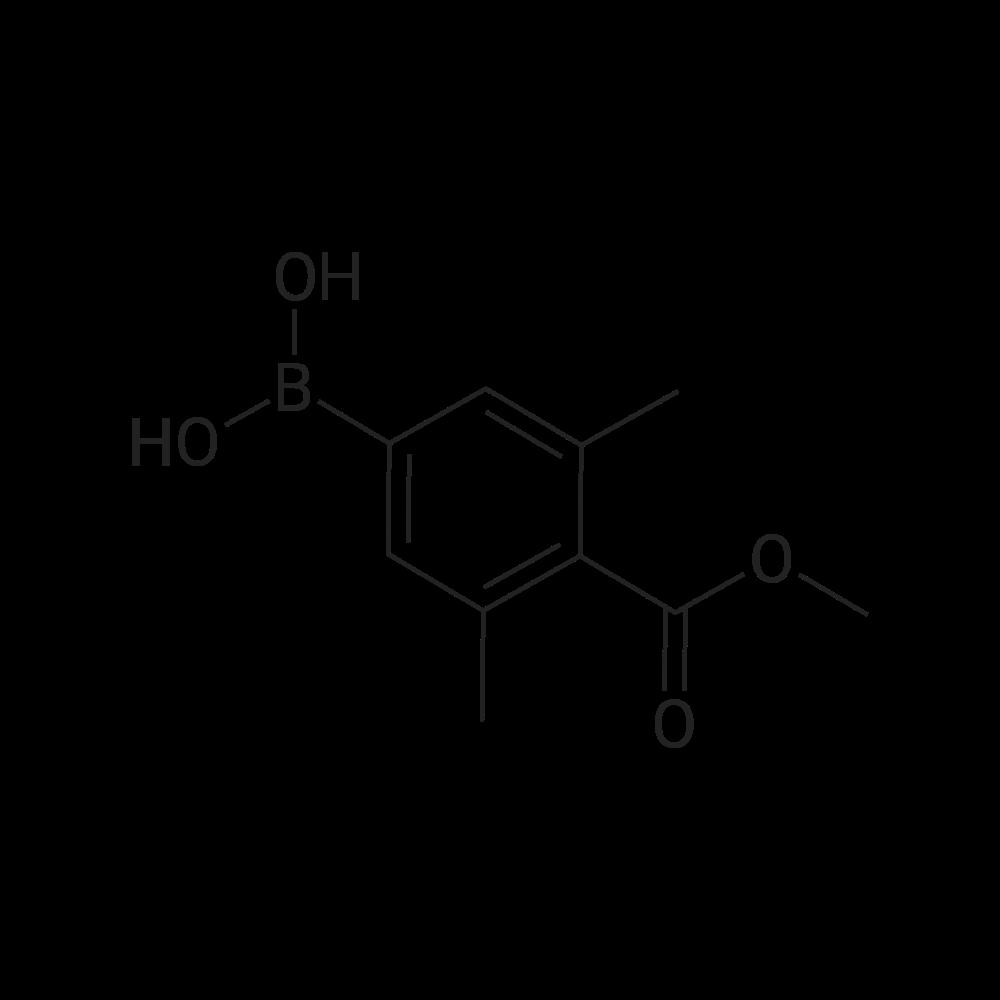 (4-(Methoxycarbonyl)-3,5-dimethylphenyl)boronic acid
