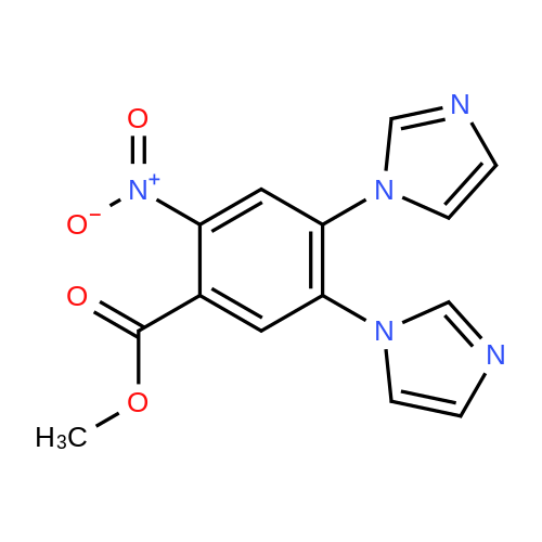 Methyl 4,5-Di(1-imidazolyl)-2-nitrobenzoate