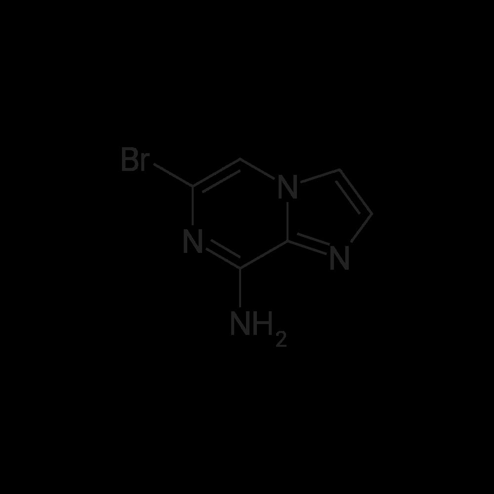 6-Bromoimidazo[1,2-a]pyrazin-8-amine
