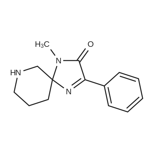 1-Methyl-3-phenyl-1,4,7-triazaspiro[4.5]dec-3-en-2-one