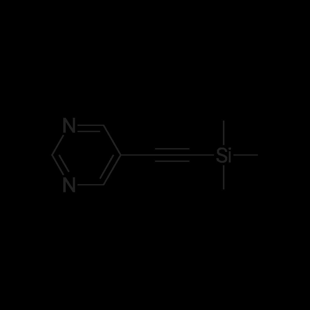 5-((Trimethylsilyl)ethynyl)pyrimidine