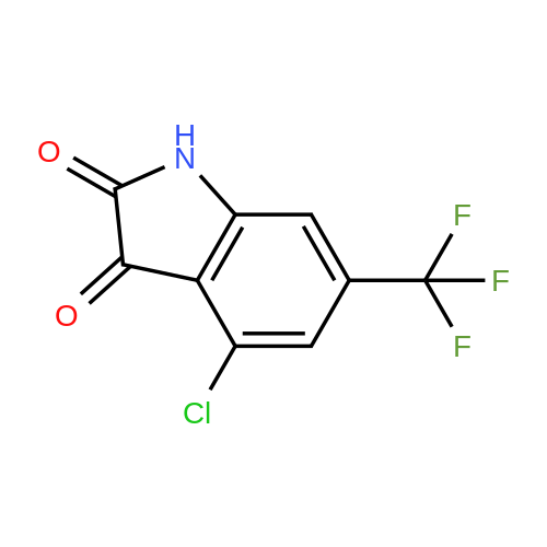 4-Chloro-6-(trifluoromethyl)indoline-2,3-dione