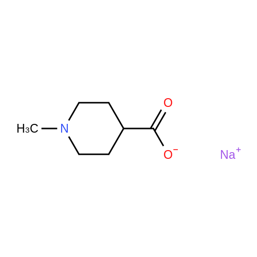 Sodium 1-methylpiperidine-4-carboxylate