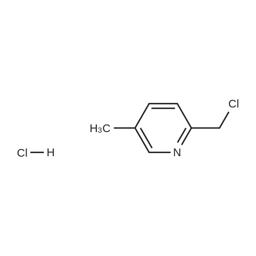 2-(Chloromethyl)-5-methylpyridine hydrochloride