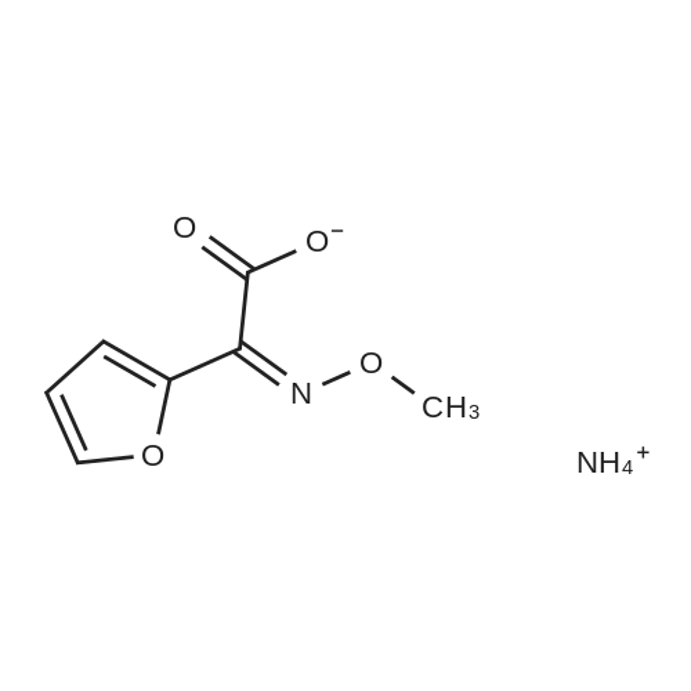 Ammonium (Z)-2-(furan-2-yl)-2-(methoxyimino)acetate