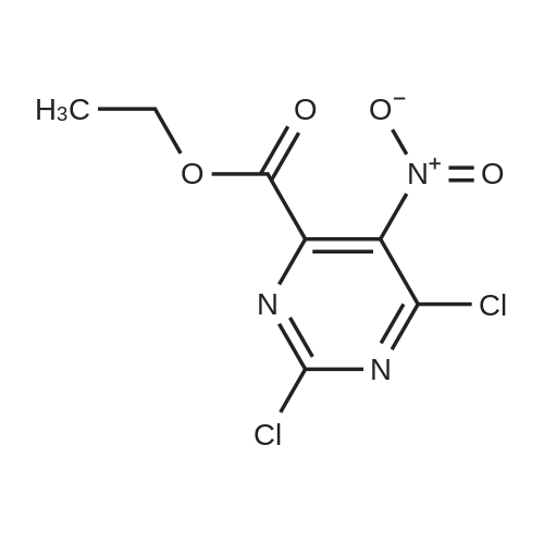 Ethyl 2,6-dichloro-5-nitropyrimidine-4-carboxylate