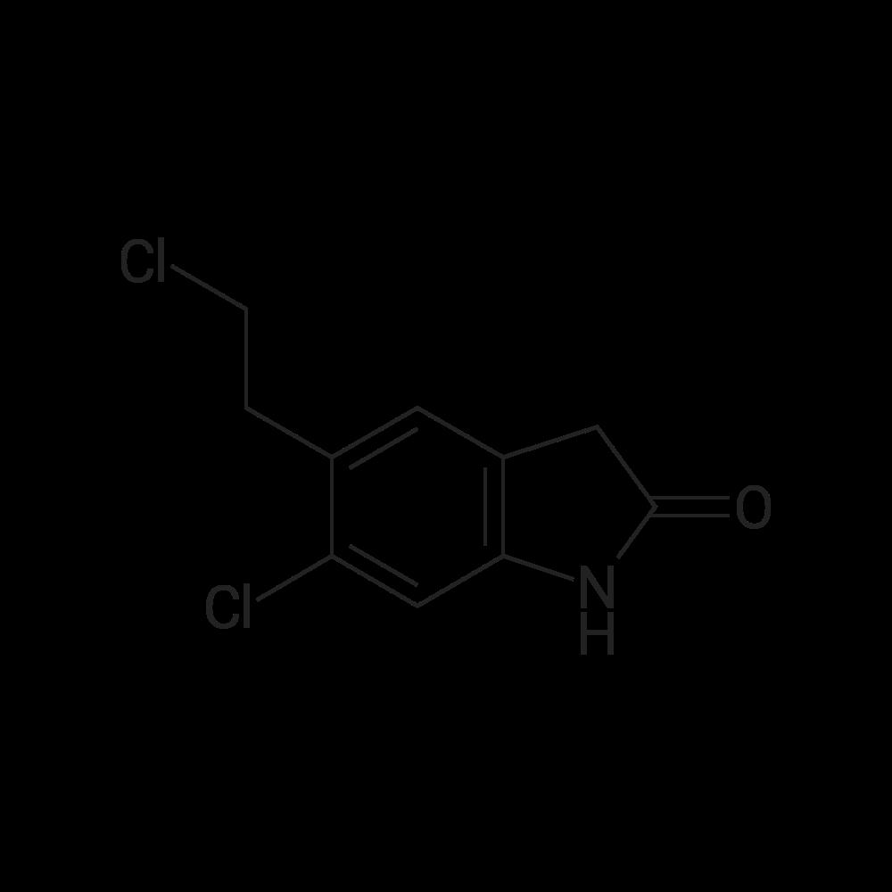 6-Chloro-5-(2-chloroethyl)indolin-2-one