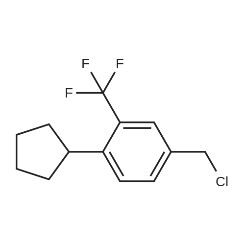 4-(Chloromethyl)-1-cyclopentyl-2-(trifluoromethyl)benzene