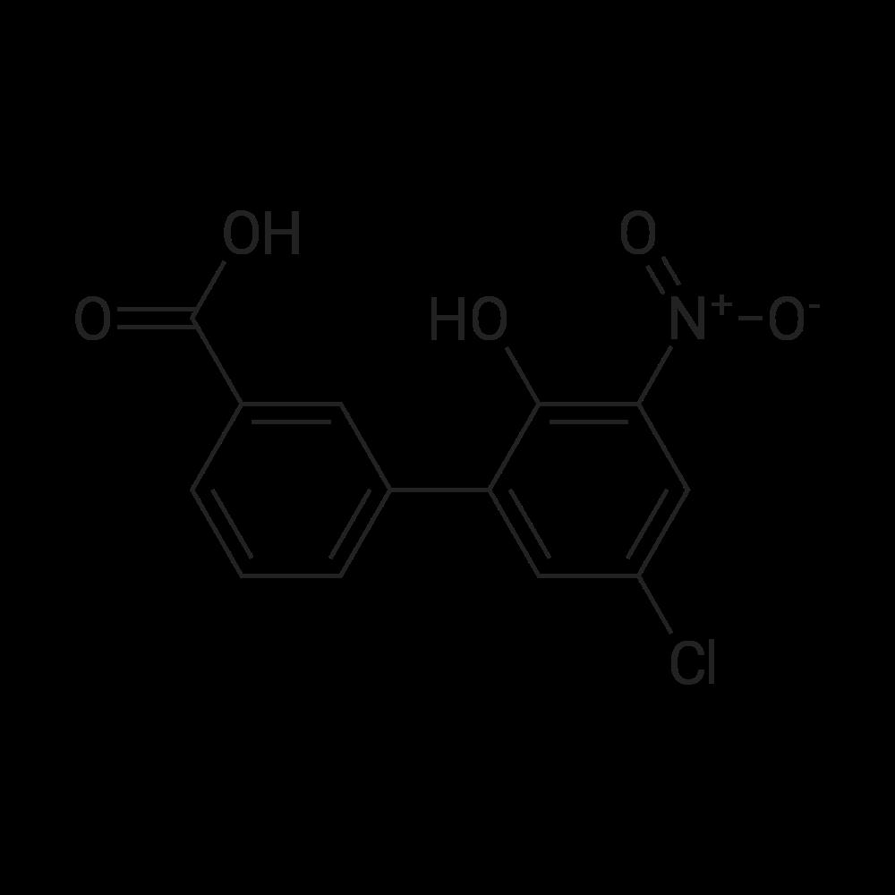 5'-Chloro-2'-hydroxy-3'-nitro-[1,1'-biphenyl]-3-carboxylic acid
