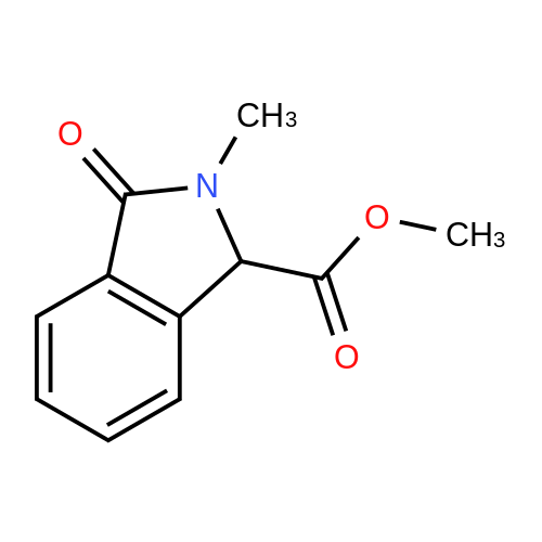 Methyl 2-methyl-3-oxoisoindoline-1-carboxylate
