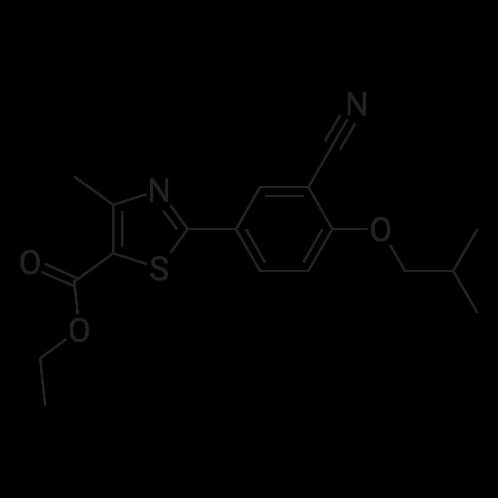 Ethyl 2-(3-cyano-4-isobutoxyphenyl)-4-methyl-5-thiazolecarboxylate