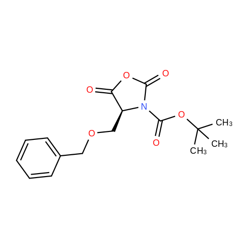 (S)-tert-Butyl 4-((benzyloxy)methyl)-2,5-dioxooxazolidine-3-carboxylate