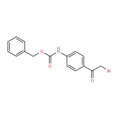 Benzyl (4-(2-bromoacetyl)phenyl)carbamate