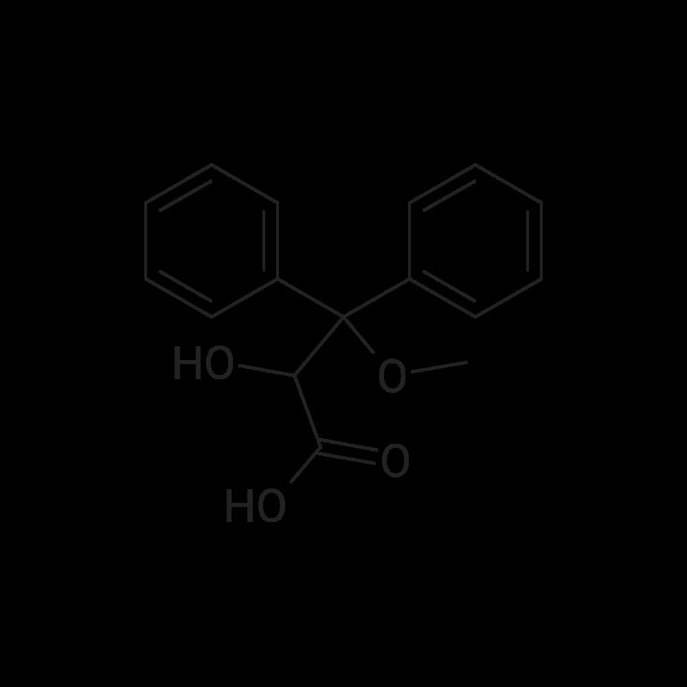 2-Hydroxy-3-methoxy-3,3-diphenylpropanoic acid