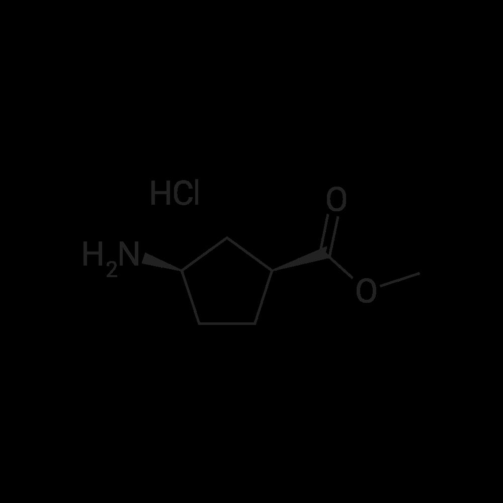 (1S,3R)-Methyl 3-aminocyclopentanecarboxylate hydrochloride
