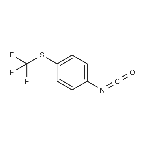 4-(Trifluoromethylthio)phenyl isocyanate