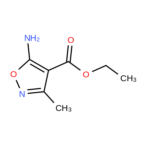 Ethyl 5-amino-3-methylisoxazole-4-carboxylate
