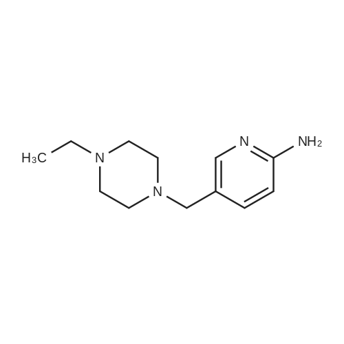 5-((4-Ethylpiperazin-1-yl)methyl)pyridin-2-amine