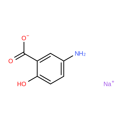 Sodium 5-amino-2-hydroxybenzoate
