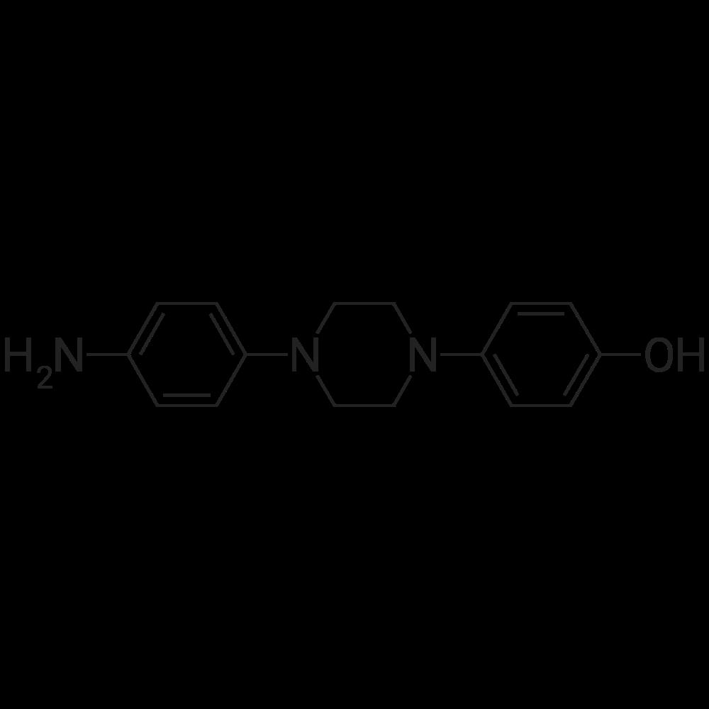 1-(4-Aminophenyl)-4-(4-hydroxyphenyl)piperazine