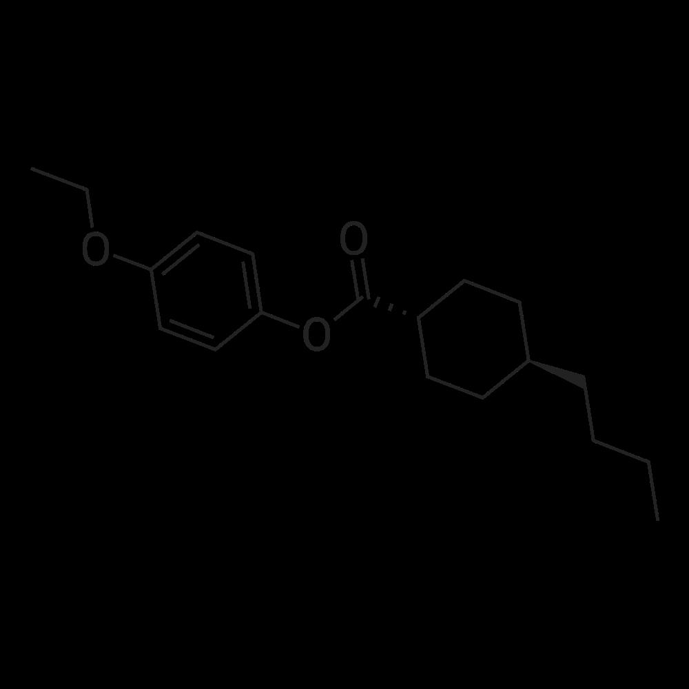 Trans-4-ethoxyphenyl 4-butylcyclohexanecarboxylate