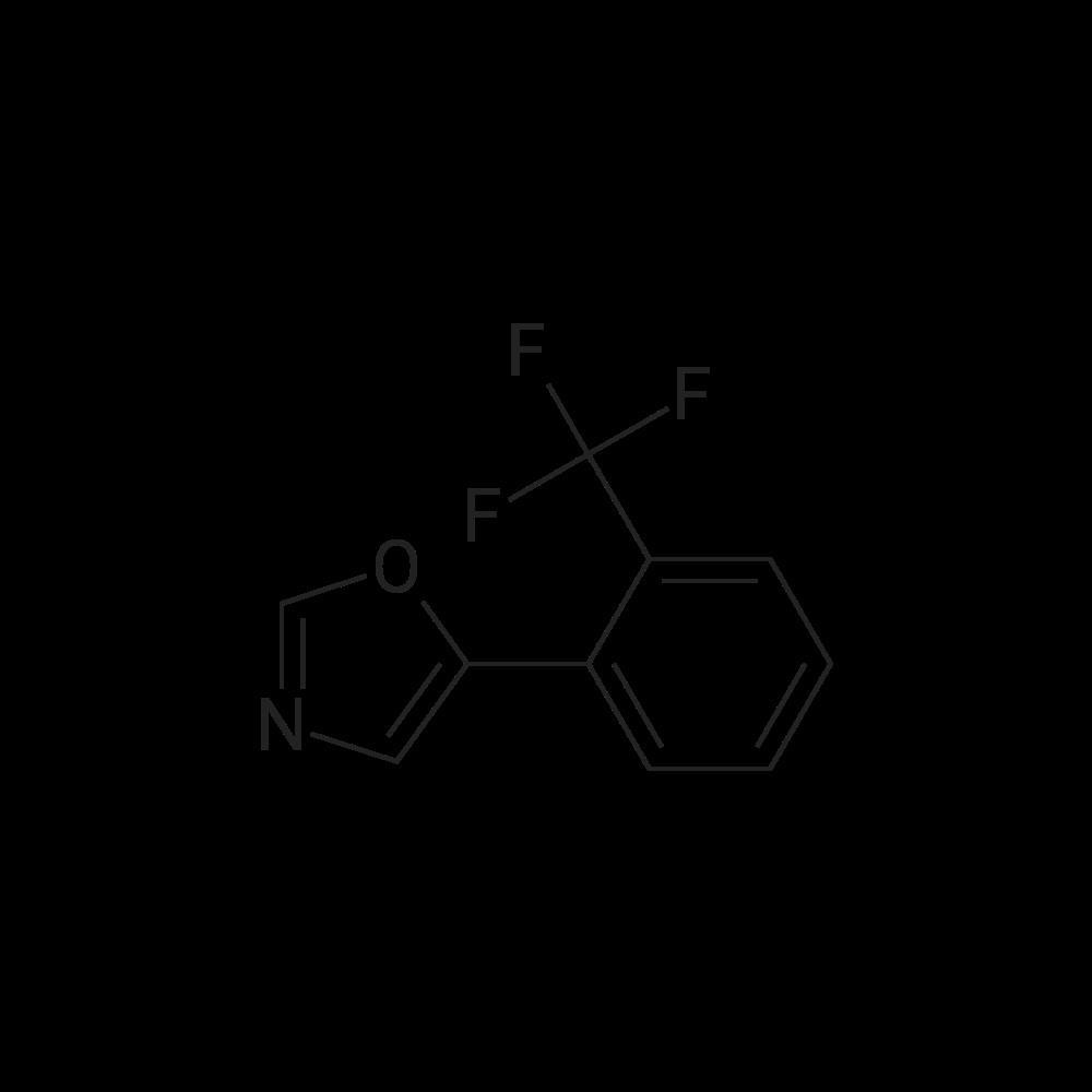 5-(2-(Trifluoromethyl)phenyl)oxazole