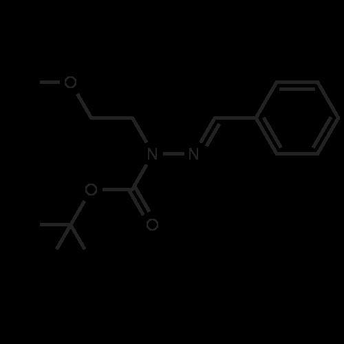 (E)-tert-Butyl 2-benzylidene-1-(2-methoxyethyl)hydrazinecarboxylate