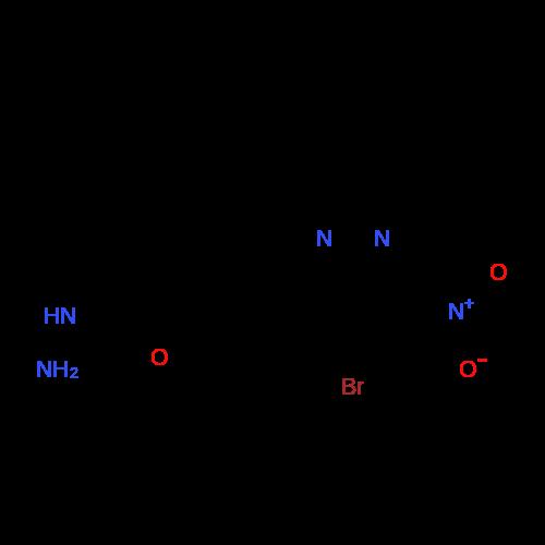 3-((4-Bromo-3-nitro-1H-pyrazol-1-yl)methyl)benzohydrazide