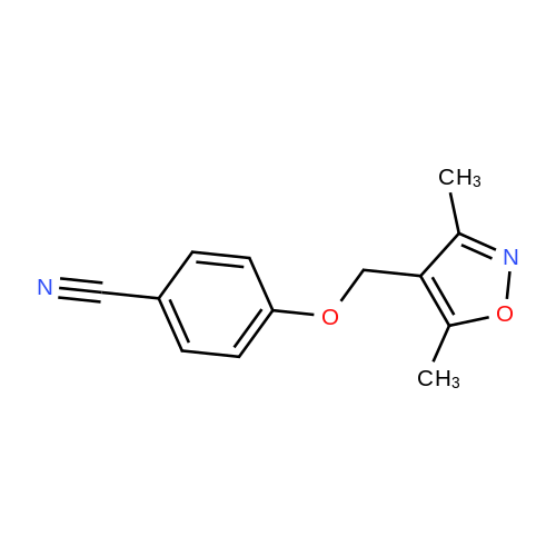 4-((3,5-Dimethylisoxazol-4-yl)methoxy)benzonitrile