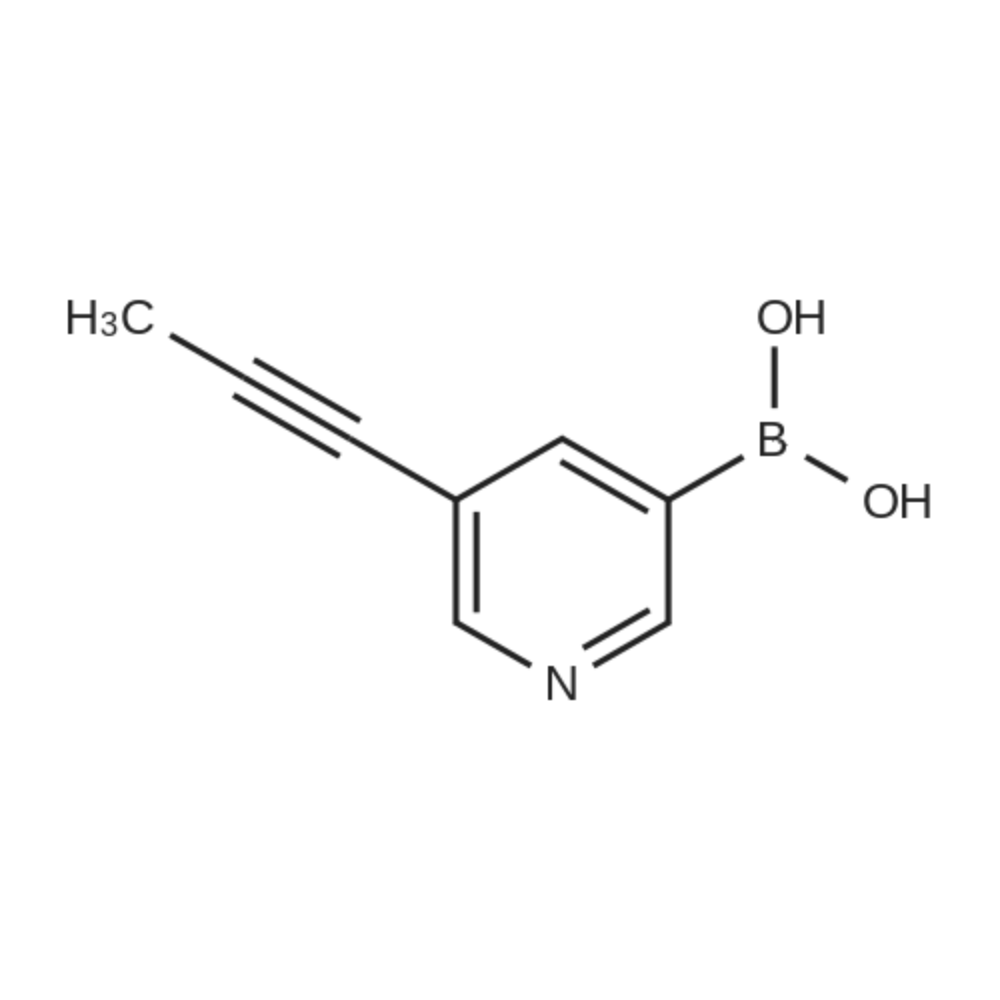 (5-(Prop-1-yn-1-yl)pyridin-3-yl)boronic acid