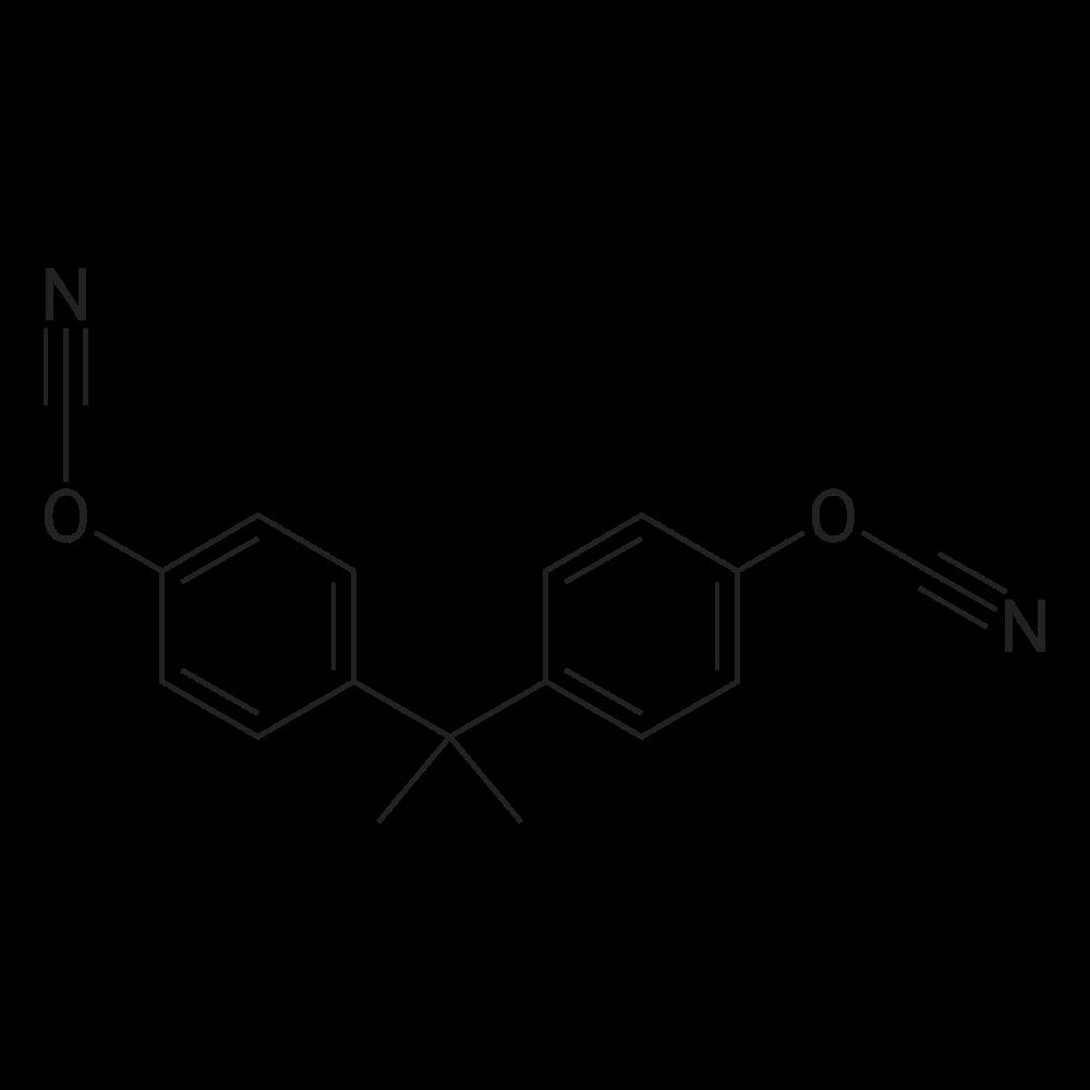 4,4'-(Propane-2,2-diyl)bis(cyanatobenzene)