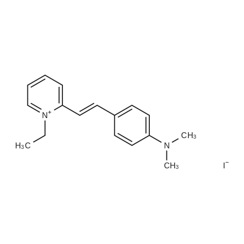 2-(4-(Dimethylamino)styryl)-1-ethylpyridin-1-ium iodide