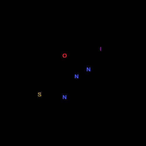 3-((2-Iodobenzylidene)amino)-2,5,6-trimethylthieno[2,3-d]pyrimidin-4(3H)-one