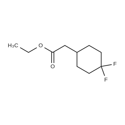 Ethyl 2-(4,4-difluorocyclohexyl)acetate