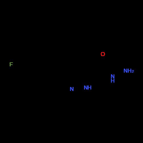 5-(4-Fluoro-phenyl)-2H-pyrazole-3-carboxylic acid hydrazide