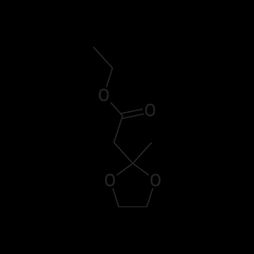 Ethyl 2-(2-methyl-1,3-dioxolan-2-yl)acetate