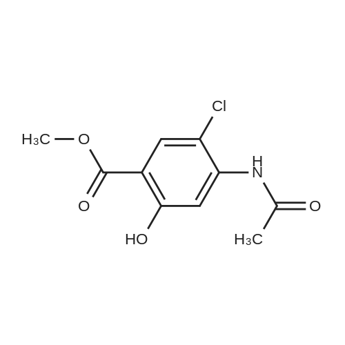 Methyl 4-acetamido-5-chloro-2-hydroxybenzoate