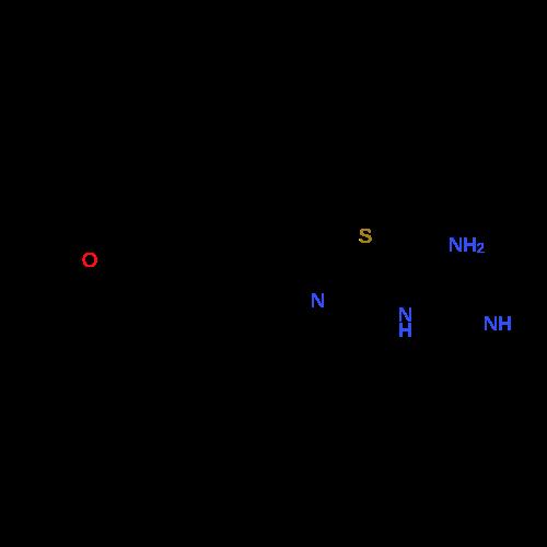 1-(4-(4-Methoxyphenyl)thiazol-2-yl)guanidine