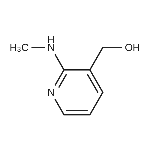 2-(N-Methylamino)-3-hydroxymethylpyridine