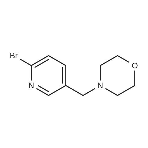 4-((6-Bromopyridin-3-yl)methyl)morpholine
