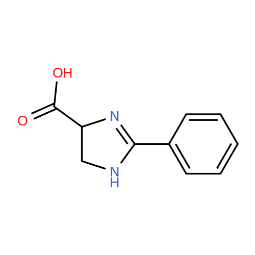 2-Phenyl-4,5-dihydro-1H-imidazole-4-carboxylic acid