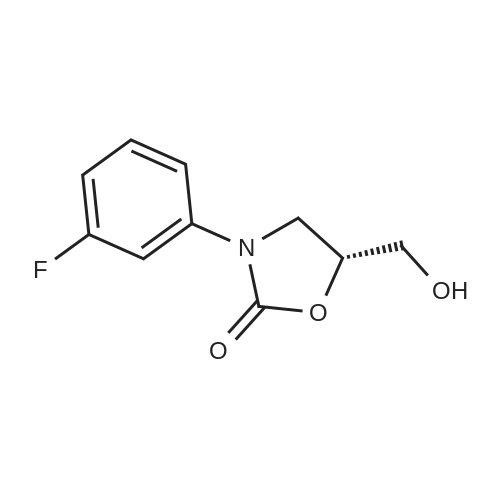 (R)-3-(3-Fluorophenyl)-5-(hydroxymethyl)oxazolidin-2-one