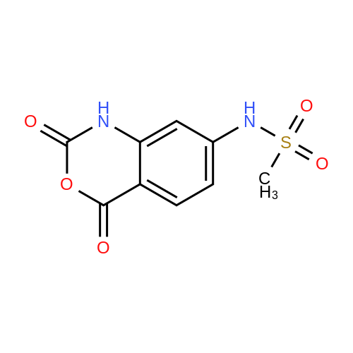 N-(2,4-Dioxo-2,4-dihydro-1H-benzo[d][1,3]oxazin-7-yl)methanesulfonamide