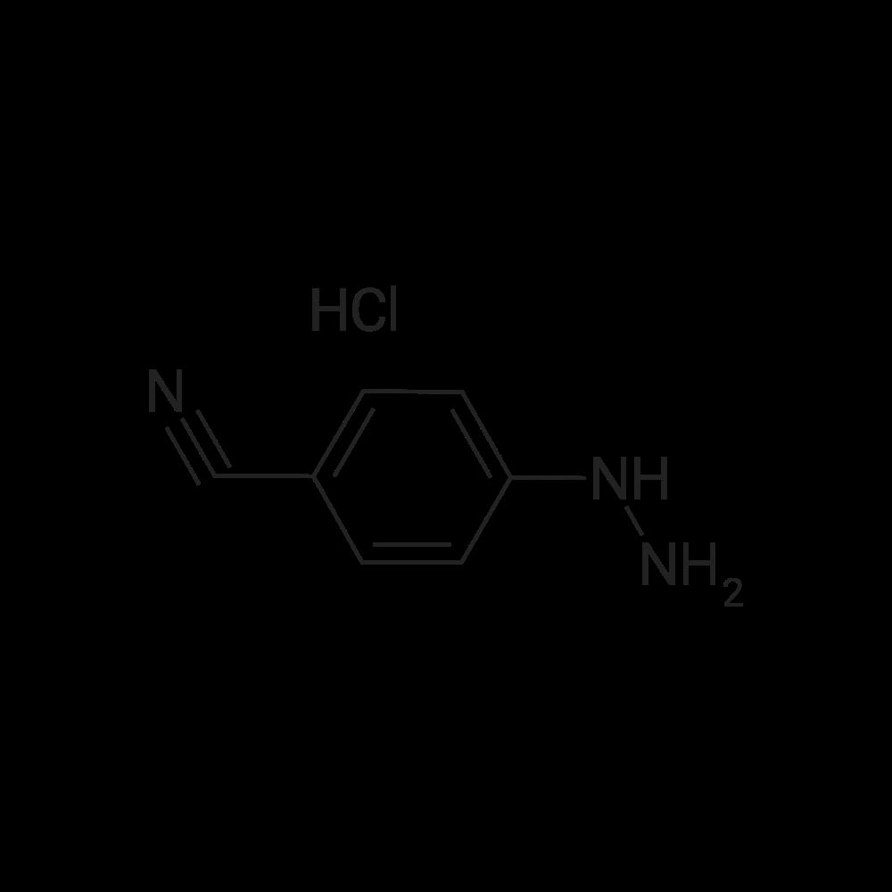 4-Hydrazinylbenzonitrile hydrochloride