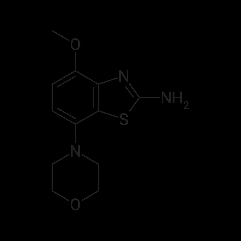 4-Methoxy-7-morpholinobenzo[d]thiazol-2-amine