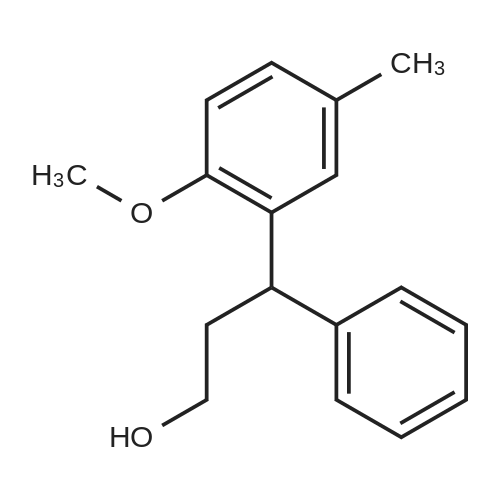 3-(2-Methoxy-5-methylphenyl)-3-phenylpropan-1-ol